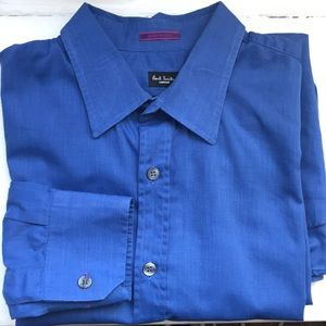 Paul Smith bright blue dress shirt
